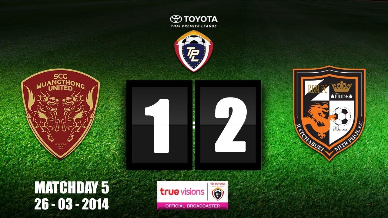 Muang Thong United 1-2 Ratchaburi FC
