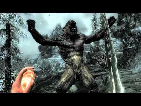 Первый Геймплей ролик The Elder Scrolls V: Skyrim