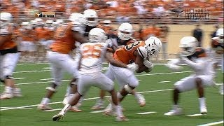 Football highlights: Orange and White scrimmage [April 19, 2014]