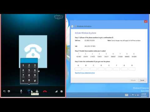 How to Activate Windows 8 PRO or Enterprise Using Skype  (New Key  June 2016)