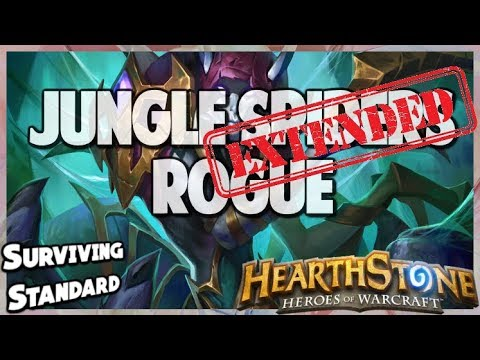 Jungle Spiders Rogue | Extended Gameplay | Hearthstone | Kobolds and Catacombs