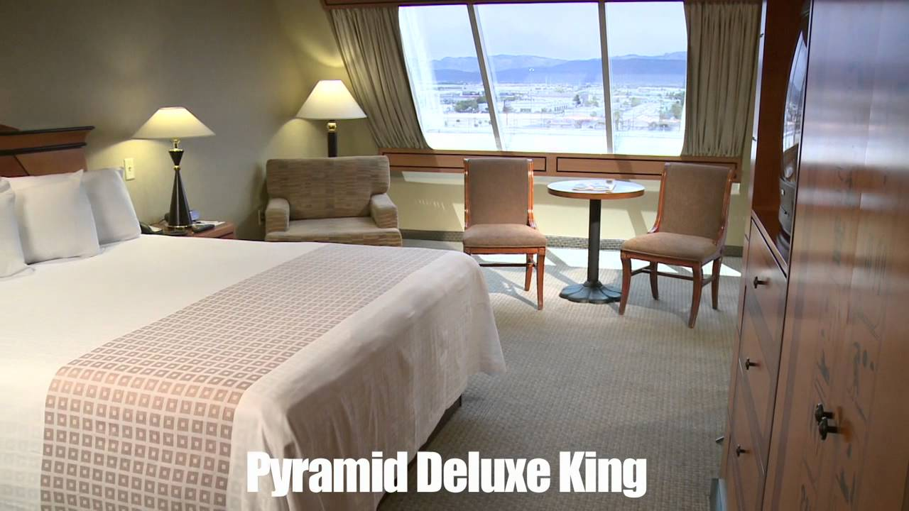 luxor pyramid deluxe king
