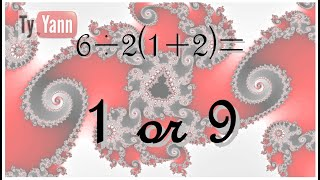 6/2(1+2) or 6÷2(1+2) equals ? Final Thoughts