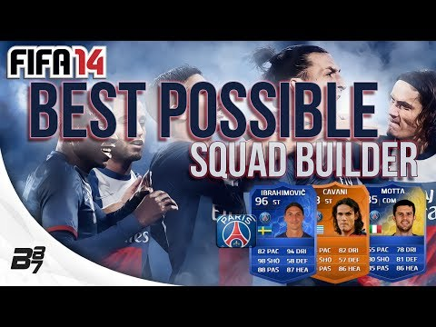 BEST POSSIBLE PSG TEAM w/ TOTY, MOTM and TOTS Cards | FIFA 14 Ultimate Team Squad Builder