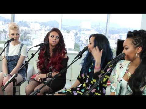 Little Mix in the ClevverTV Studio BTS - Exclusive