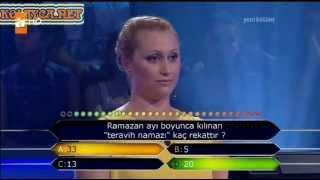 Kim Milyoner Olmak Ister 252. bölüm Sevgi Candan 22.07.2013
