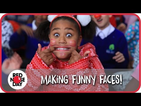 'Making Funny Faces' Red Nose Day 2015 School Song
