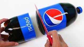 How to Make HUGE TWO LITER Gummy Pepsi Cola Bottle Fun & Easy Make Your Own Jello Dessert!