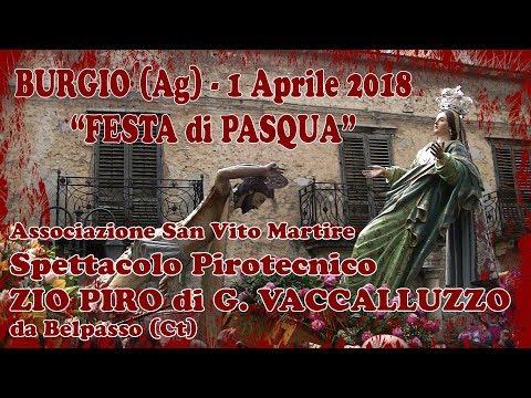 BURGIO (Ag) - PASQUA 2018 - ZIO PIRO di G. Vaccalluzzo