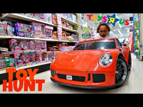 Toy Hunt At Toys R US Power Wheels  Fidget Spinners  Shopkins  Barbie  Surprise Toy Opening