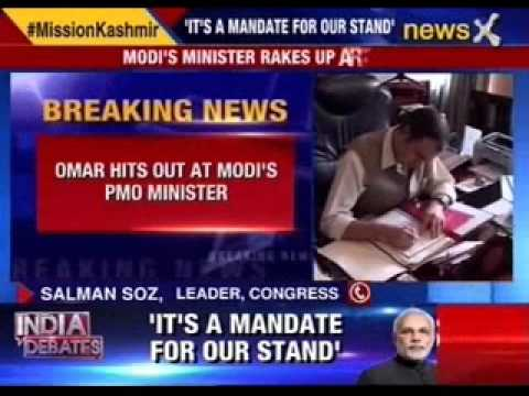 Omar Abdullah hits out at Modi's PMO ministers