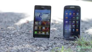 LG Optimus G Vs Samsung Galaxy S3