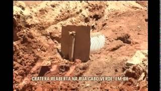 Cratera reabre e moradores protestam na Rua Cabo Verde