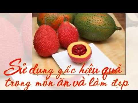 Sử dụng gấc hiệu quả trong món ăn và làm đẹp