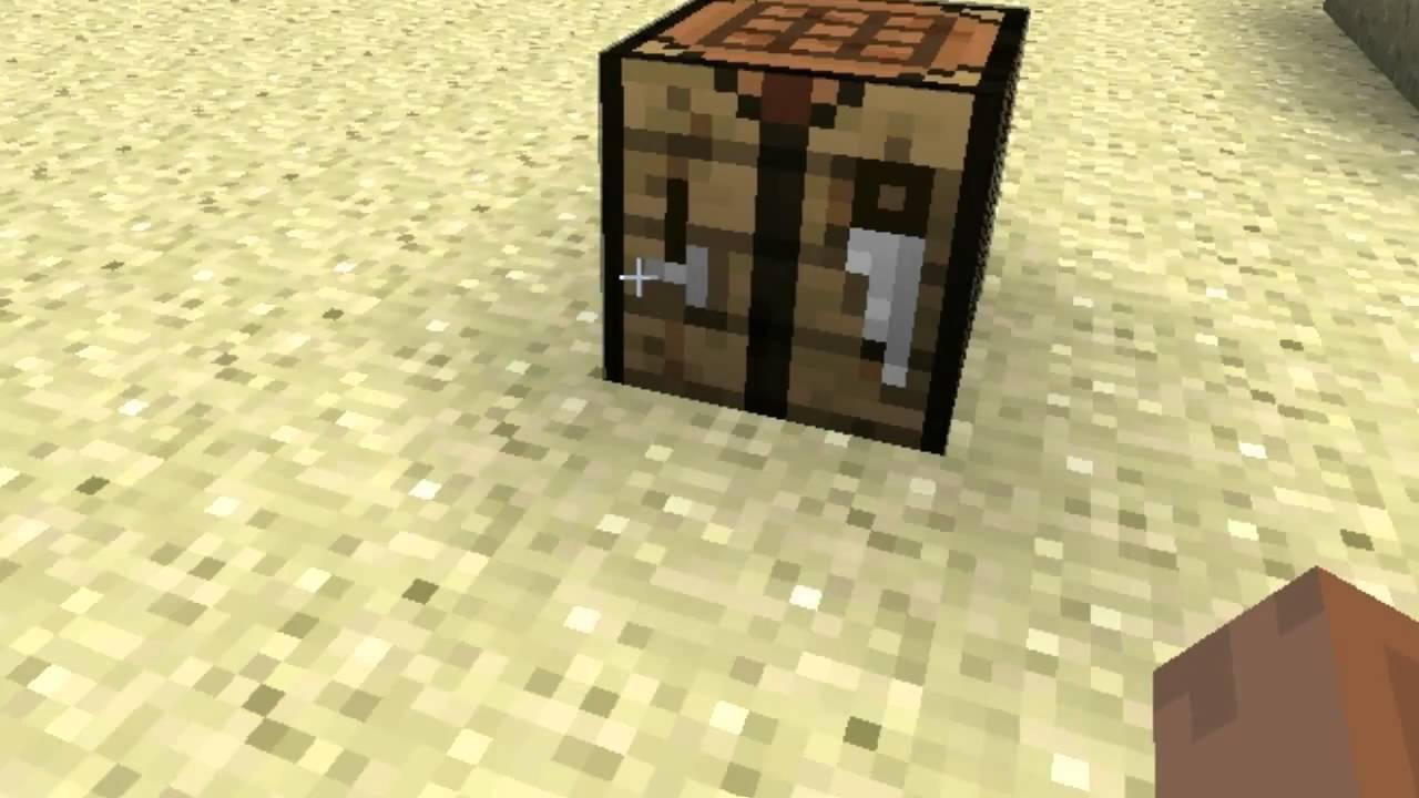 minecraft how to make wooden axe