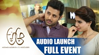 Trivikram's A AA Audio Launch - LIVE NOW