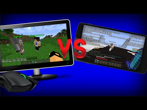 NOVO MINECRAFT CELULAR Vs NOVO MINECRAFT PC 1.9