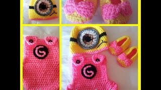 Tutorial How To Crochet A Baby Minion Costume (Part 1
