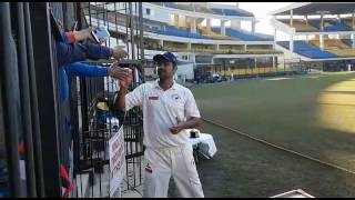RP Singh throws fans mobile Phone