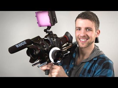 Hình ảnh trong video Affordable Film Gear | Slider and