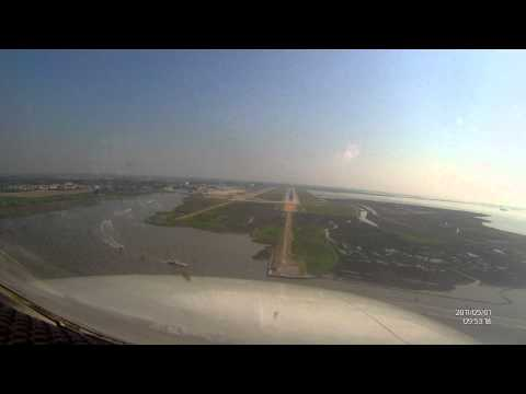 LIPZ - Marco Polo International Airport - Approach And Landing (Cockpit View)