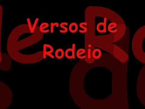 Versos de Rodeio