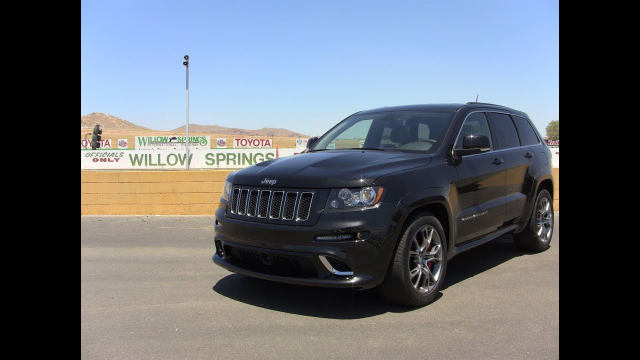 track time the 2012 jeep grand cherokee srt8 tears up the race track. Cars Review. Best American Auto & Cars Review