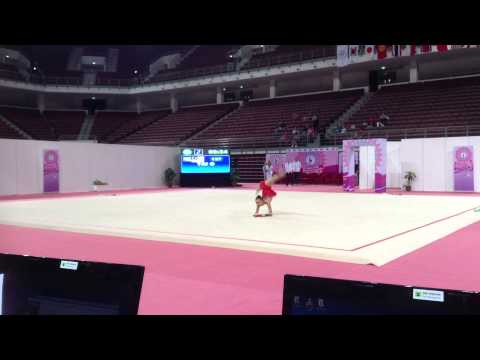 Olivia Tai Clubs Finals Asian Championship 2014