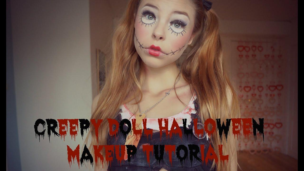 Creepy Doll Makeup Tutorial You. B2cutecupcakes