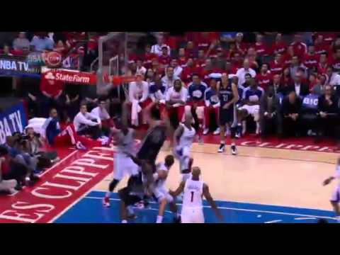NBA Playoffs 2013: NBA Memphis Grizzlies Vs LA Clippers Highlights April 22, 2013 Game 2