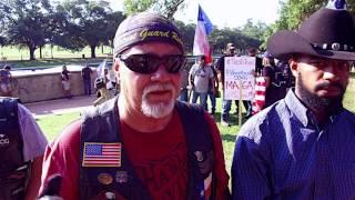 Sam Houston Texas Patriot Protest vs. Antifa