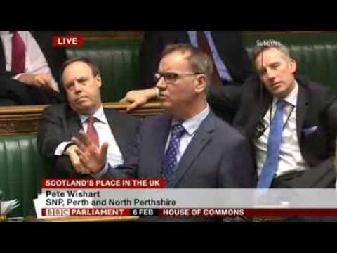 Pete Wishart on Scottish Independence - 'The Speech They Tried to Shout Down'