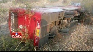 20 hurt as bus overturns at Nagarjunsagar