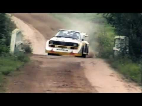 Audi Quattro Sport S1 in volle actie