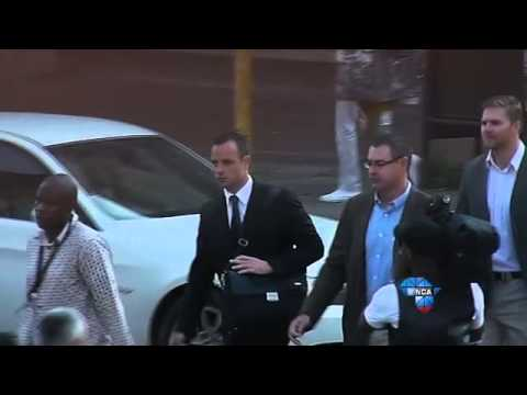 Pistorius Trial: Day 12 - Oscar arrives in court