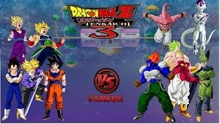 DRAGON BALL Z BUDOKAI TENKAICHI 3 LATINO VERSION FINAL
