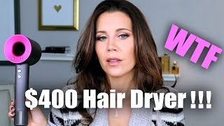 $400 DYSON SUPERSONIC HAIR DRYER   Hot or Not