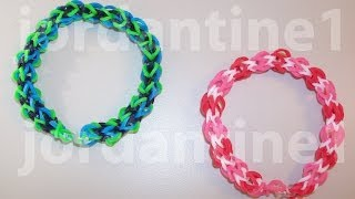 New Over Easy Bracelet Beginner Level Rainbow Loom