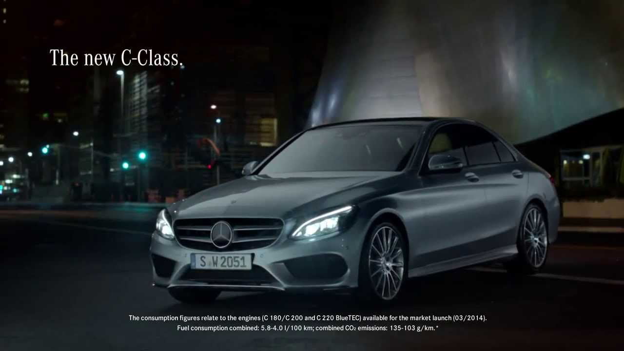 Mercedes benz 2015 c class tv commercial options hd for Mercedes benz options