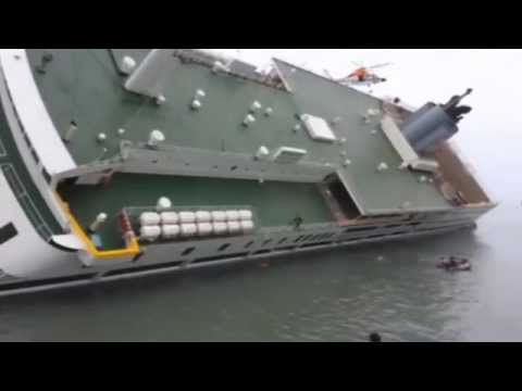 Video Shows Captain Abandoning Sinking South Korean Ferry