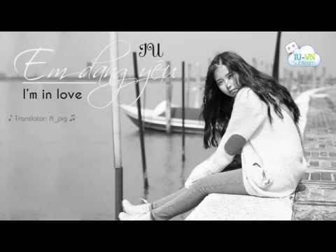 [Vietsub + Kara] I'm in love - IU