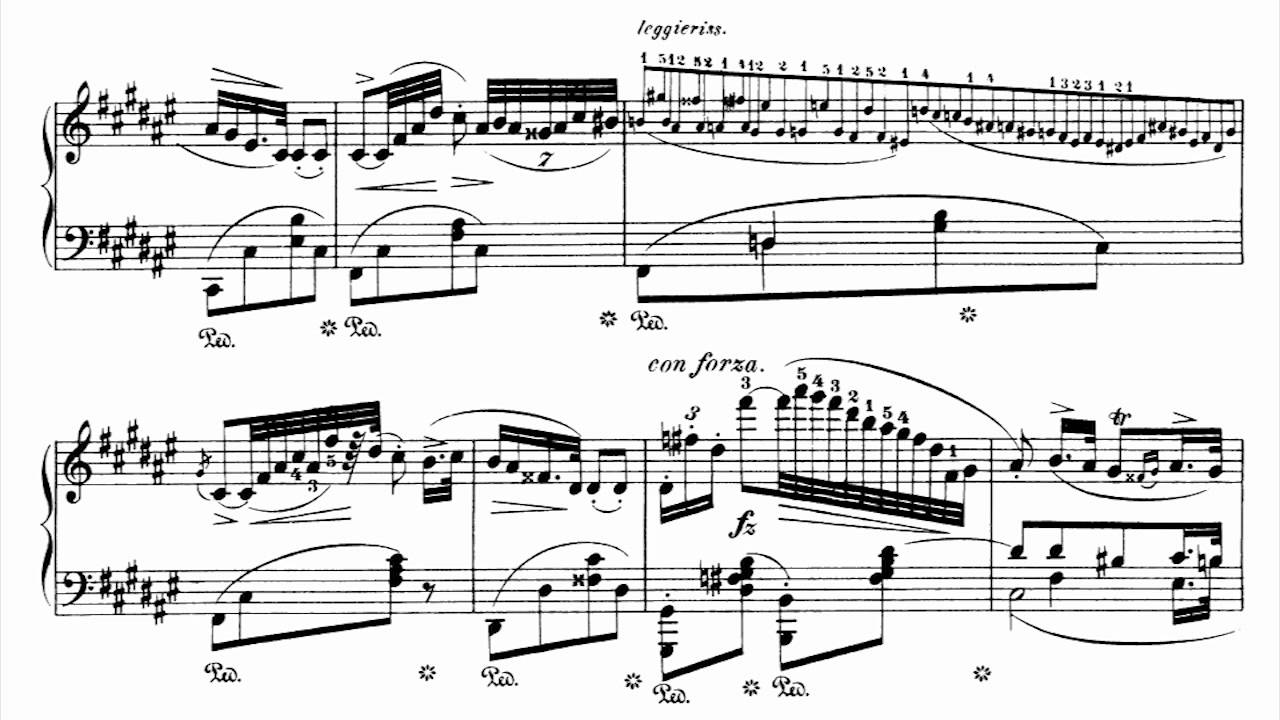 chopin nocturne op 15 no 3 pdf