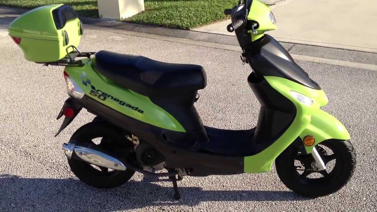 Renegade 50cc Motor Scooter For Sale