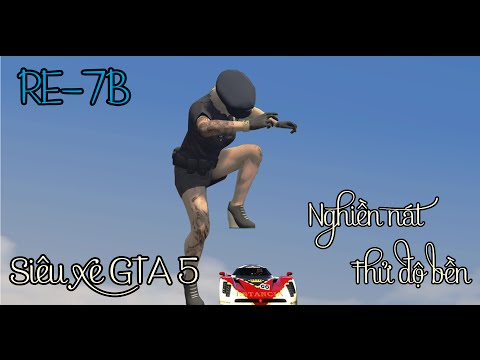 [GTA5] - Thử sức chịu đựng của siêu xe chạy nhanh nhất trong GTA 5 - siêu xe GTA 5*Tập 7