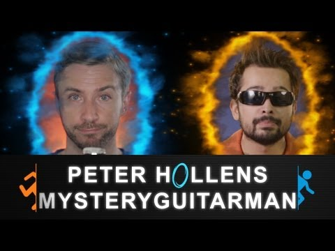 Portal - Want you gone - Peter Hollens feat. MysteryGuitarMan