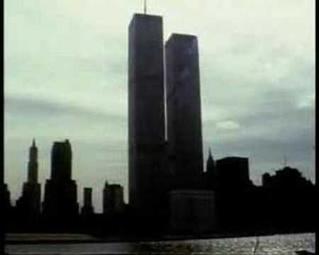 Cruise along Twin Towers New York 1981