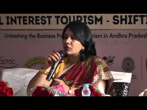 Surekha Taruni at Hyderabad Travel Meet