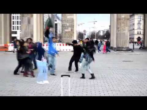ICC World T20 Bangladesh 2014 - Flash Mob From Berlin, Germany