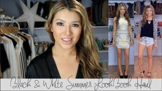 Lisa Pullano – LookBook: SUMMER Black & White Haul