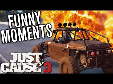 EXTREME TRAFFIC MANAGEMENT! | Just Cause 3 Funny Moments